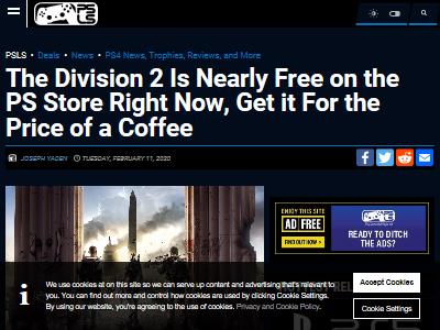 ディビジョン2 デジタル PS4に関連した画像-02