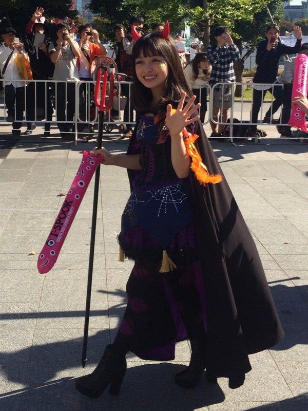 ハロウィン お台場 橋本環奈 アイドル パレードに関連した画像-08