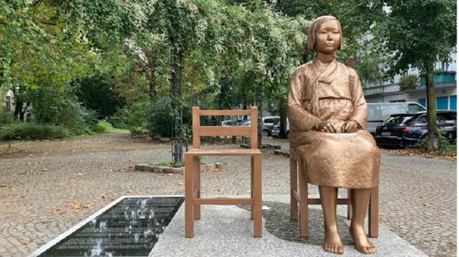 ドイツ ベルリン 慰安婦像 恒久設置に関連した画像-01