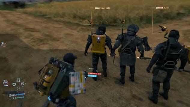 デス・ストランディング 儀式の人 メタルギアソリッド MGSV ミュール戦 スーパープレイ 動画に関連した画像-09