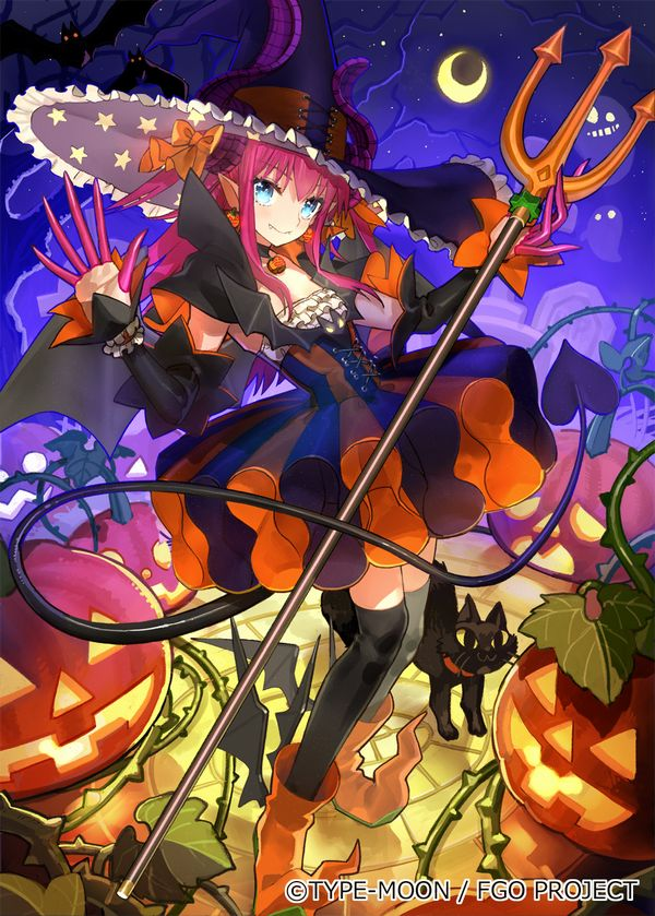 FGO ハロウィン イベント 全員 クリア 仮装 エリザベート・バートリー Fate GrandOrderに関連した画像-04