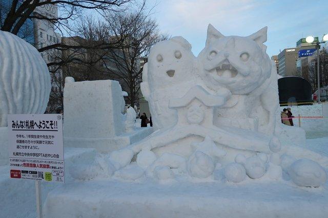 ラブライブ! 雪像 さっぽろ雪まつりに関連した画像-18