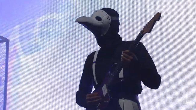 平沢進 会人 フジロックフェスティバル ペストマスク ギター かっこいい ステージに関連した画像-03