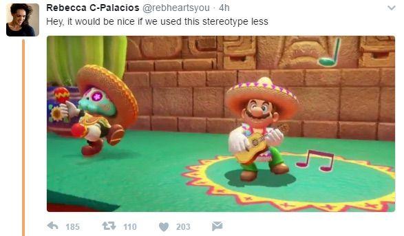 スーパーマリオオデッセイ 任天堂 差別 偏見 衣装 メキシコ人 Ubisoft ステレオタイプに関連した画像-03