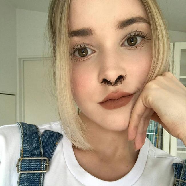 インスタグラム 鼻毛エクステ インスタ映えに関連した画像-04