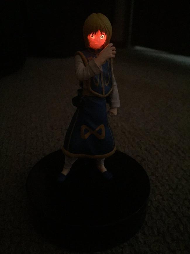 ハンターハンター クラピカ フィギュア 緋の眼 光るに関連した画像-08