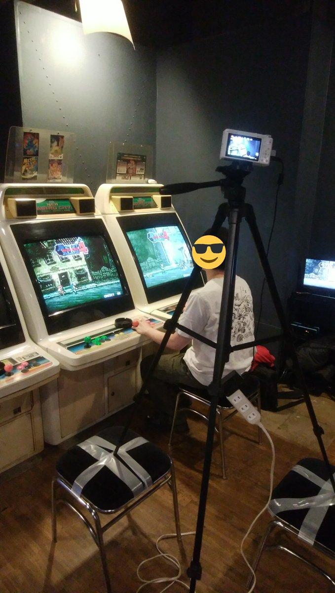 ゲーセン ゲームセンター メタルスラッグ メタスラ 目隠しに関連した画像-04
