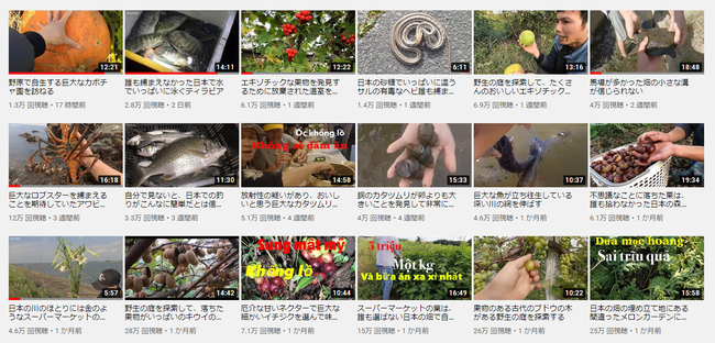 ベトナム Yotuber 窃盗 犯罪 松茸 密漁 日本に関連した画像-02