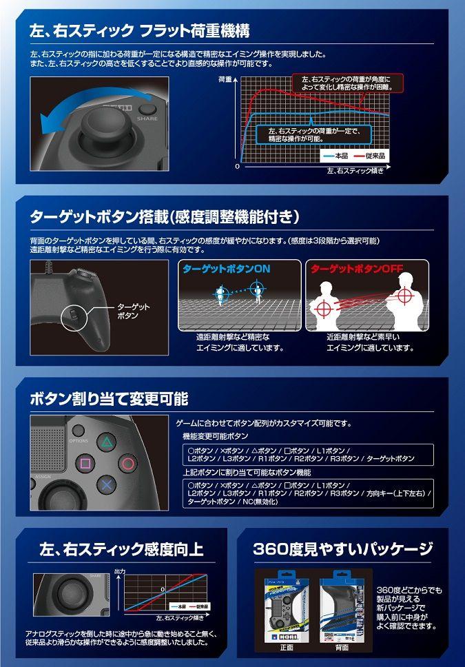 HORI PS4 ホリパッドFPSプラス タッチパネル ゲームパッド 新商品 周辺機器に関連した画像-04