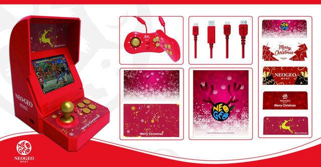 NEOGEO mini クリスマス 従来版 限定版に関連した画像-01