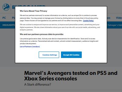 アベンジャーズ PS5 XboxSX 画質 パフォーマンス 比較に関連した画像-02