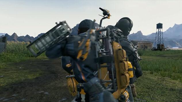 デス・ストランディング 儀式の人 メタルギアソリッド MGSV ミュール戦 スーパープレイ 動画に関連した画像-05