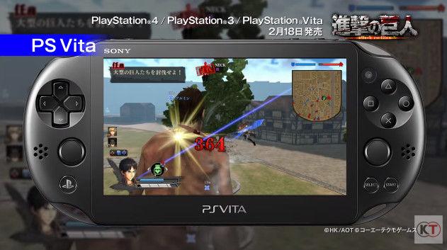 進撃の巨人 PSVita版 PS3版 グラフィックに関連した画像-10