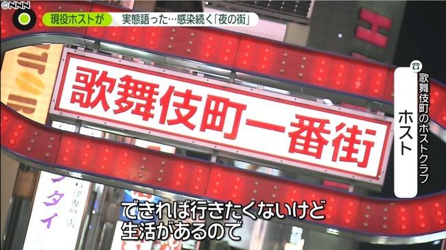 新型コロナ 東京都 歌舞伎町 夜の街 感染者 ホストに関連した画像-01
