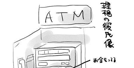 男性 デート 女性 奢る ATMに関連した画像-01