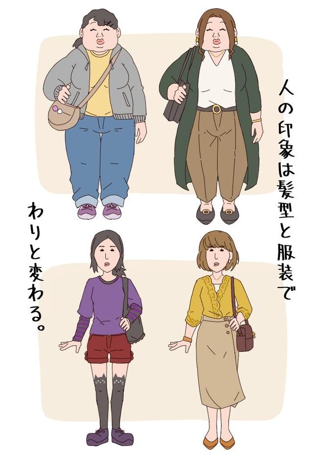 オタク 髪型 服装に関連した画像-02