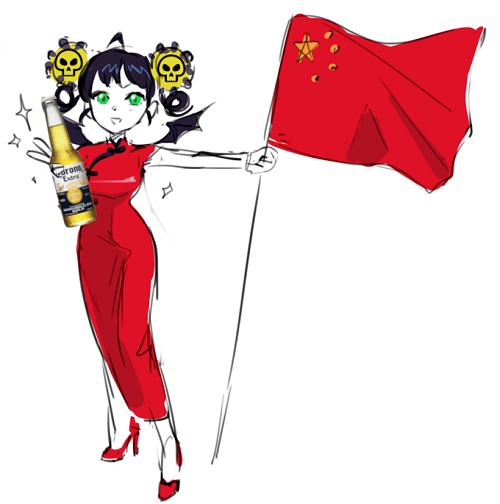中国コロナちゃん擬人化怒りに関連した画像-03