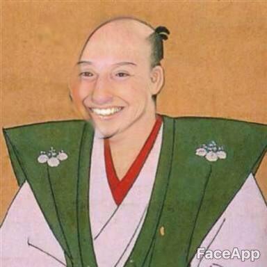 顔写真 絵 強制的 笑顔 アプリ FaceApp プーチン大統領 スネイプ リヴァイ兵長 スネークに関連した画像-07