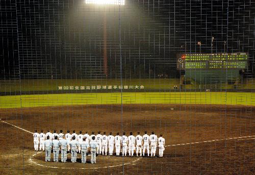 高校野球京都大会 高校野球 野球 ナイター試合 異例 記録的猛暑に関連した画像-01