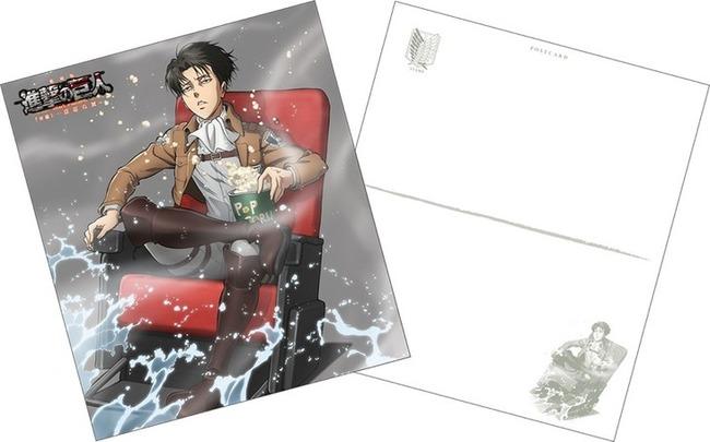 進撃の巨人 リヴァイ兵長 劇場アニメ 後編 特典に関連した画像-03