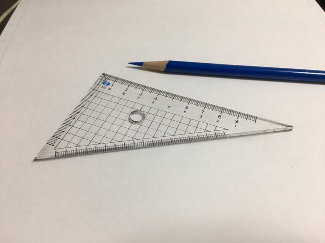絵 三角定規 手書きに関連した画像-06