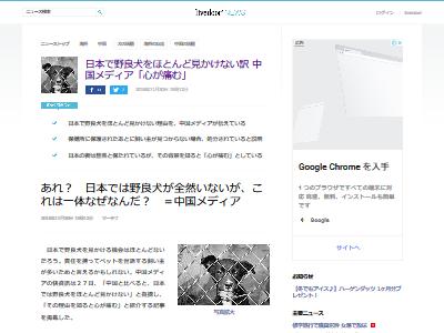 中国人 日本 野良犬に関連した画像-02