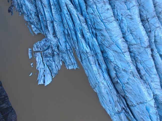 アイスランド 氷河 合成写真に関連した画像-03