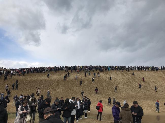鳥取砂丘 ポケモンGO 人数に関連した画像-11