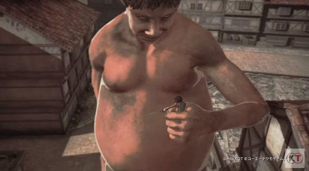 進撃の巨人 PS4 ゲーム PVに関連した画像-15