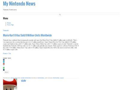 マリオカート8 WiiU 売上に関連した画像-02