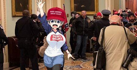 宇崎ちゃんは遊びたい! 丈 右翼 ネトウヨ ツイッター 陰謀論 RT ANTIFA トランプ支持者に関連した画像-01