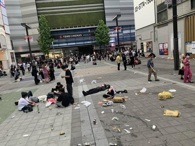 東京都 新型コロナ 感染者数 過去最高 東京五輪 原因 路上飲みに関連した画像-03