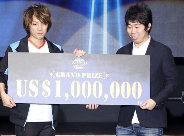 eスポーツ世界大会で「ふぇぐ」選手が優勝!国内開催で最高賞金額の1億円を手に!