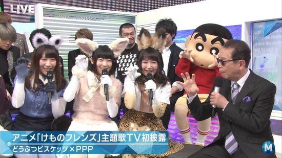 けものフレンズ Mステ 視聴率に関連した画像-01