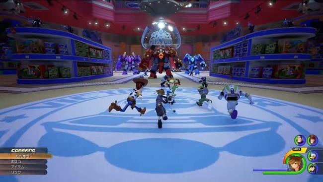 キングダムハーツ3 プレイアブルキャラクター パーティー最大5人に関連した画像-01