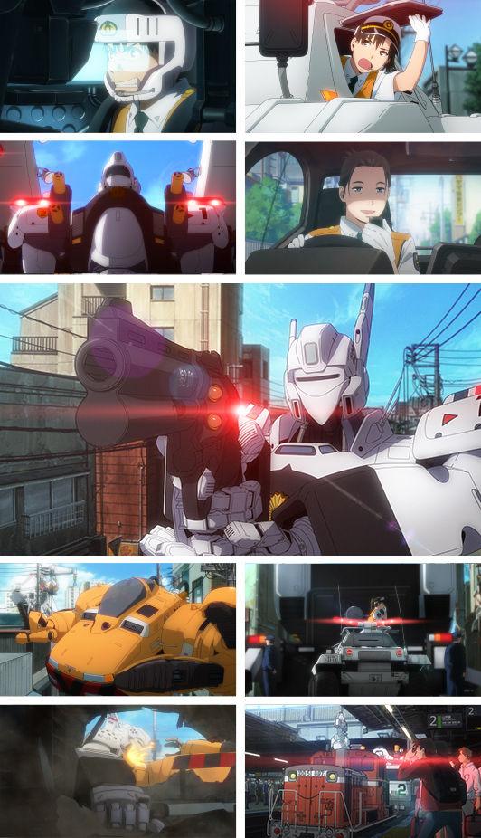 完全新作 OVA 機動警察パトレイバー 機動警察パトレイバーREBOOT パトレイバー 予約開始 予告映像に関連した画像-03