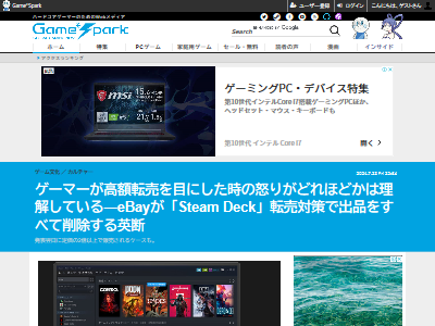 SteamDeck高額出品削除に関連した画像-02