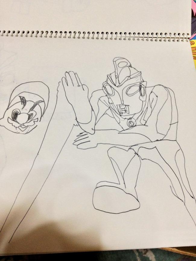 園児 ウルトラマンエース 絵に関連した画像-02