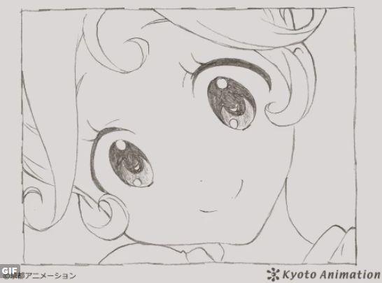 京アニ 京都アニメーション 公式 ツイッター GIFアニメ クオリティ 世界中に関連した画像-01