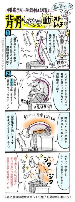 ストレッチ 腰痛 背筋に関連した画像-03