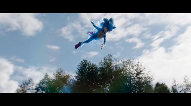 ソニック・ザ・ヘッジホッグ ハリウッド 実写映画 CG 予告トレーラー 映像に関連した画像-13