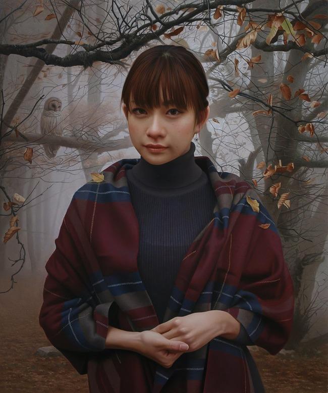 油絵 人物画に関連した画像-04