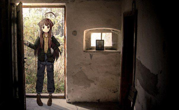 アニメ 実写 コラ 現実世界 ロシア 流行に関連した画像-16