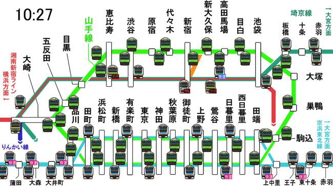 山手線 京浜東北線 電車 通勤 通学に関連した画像-02