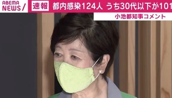 東京 新型コロナウイルス 感染者 小池百合子 都知事に関連した画像-01