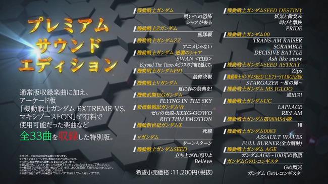家庭用 ガンダムゲーム 機動戦士ガンダムEXTREMEVS. 発売日 PS4に関連した画像-03
