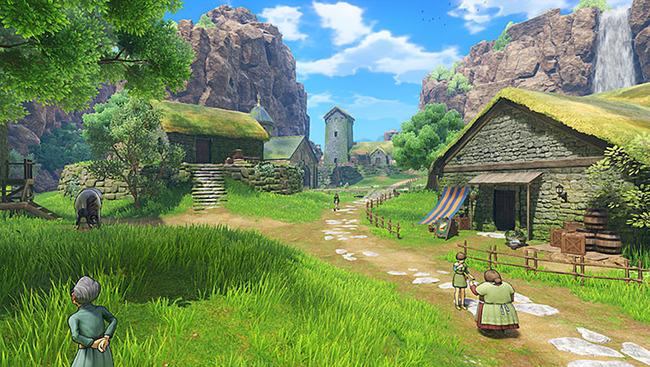 ドラゴンクエスト11 ドラクエ11 比較 3DS PS4 グラフィックに関連した画像-11
