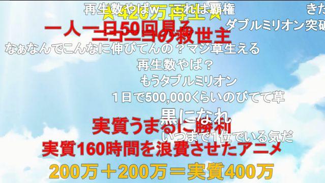 ポプテピピック ニコニコ動画 アニメ 再生数 200万再生に関連した画像-02