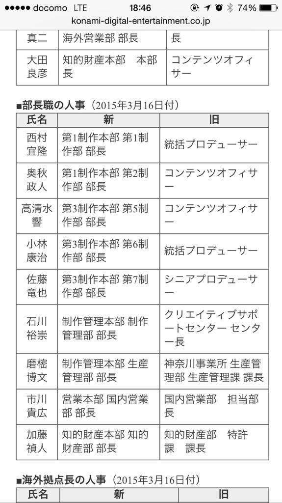 メタルギア コジプロ 小島秀夫 小島プロダクション 解散 MGS5に関連した画像-04