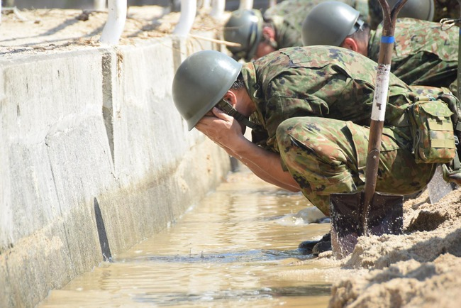 自衛隊 災害 被災に関連した画像-02